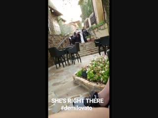 Demi via Instagram story (tkelly4242)