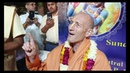 Press conference with HH Bhakti Vikasa Swami.