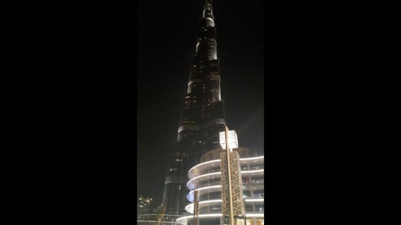 Бурдж-Халифа, Дубай, ОАЭ