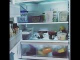 Продукты в холодильнике (из Инстаграма Дэннил)