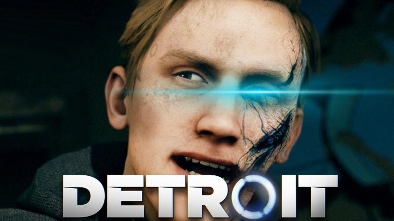 TheBrainDit РАЛЬФ РОБОТ ПСИХОПАТ Detroit Become Human 4