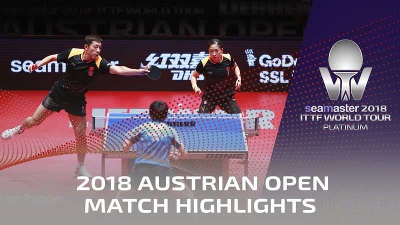 Xu XinLiu Shiwen vs Chen Chien-AnCheng I Ching | 2018 ITTF Austrian Open Highlights ( Final )