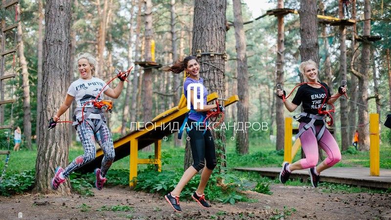 Парк Адреналин - Анна, Анастасия и Кристина (28.07.2016г.)