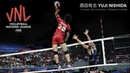 Monster of the Vertical Jump Yuji Nishida 西田有志 VNL 2018 ᴴᴰ