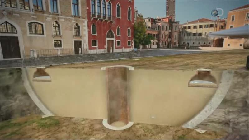 Город наизнанку Венеция тонущий город full HD