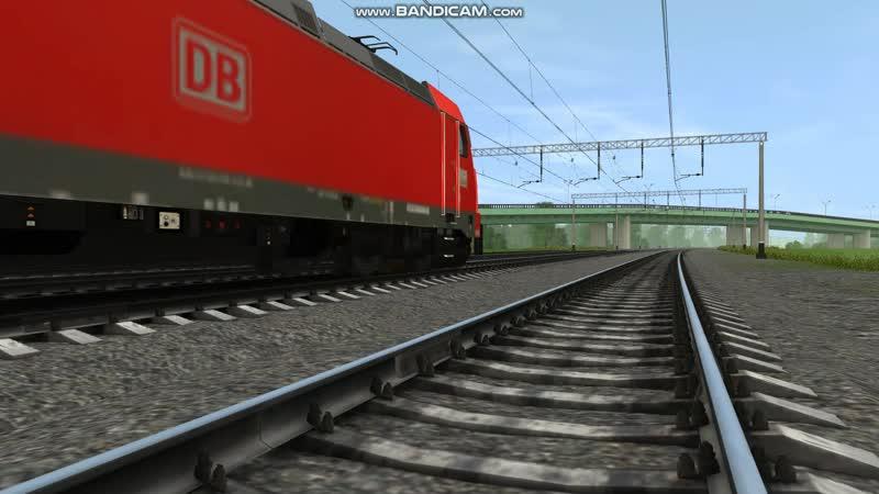 Германский грузовой электровоз DB-146-226