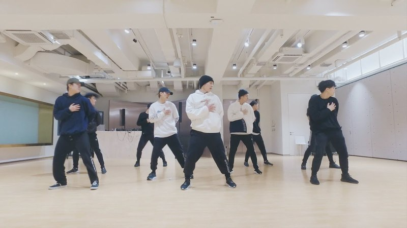 EXO-CBX (첸백시) 花요일 (Blooming Day) Dance Practice