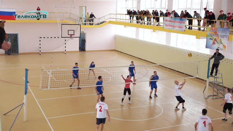 Торжественное открытие Волжского городского спорткомплекса после ремонта.