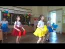 Танец Хорошее настроение в исполнении девочек из Красного отряда