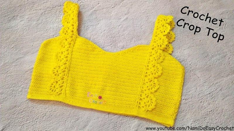 Easy Crochet for Summer: Crochet Crop Top 10