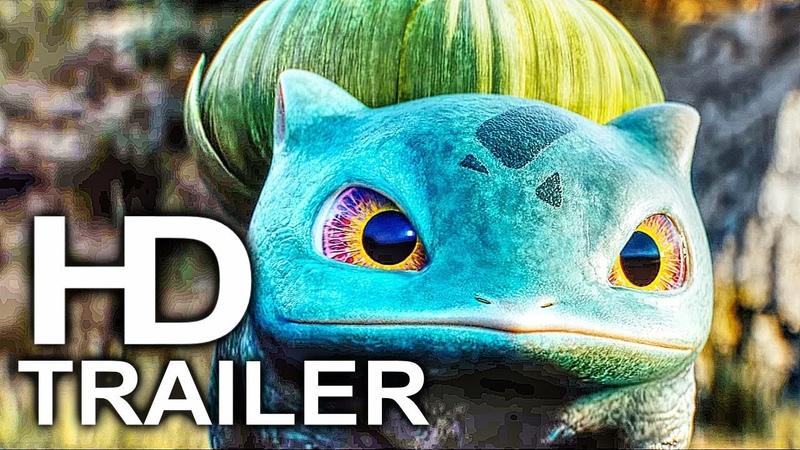 POKEMON DETECTIVE PIKACHU Trailer 2 NEW (2019) Ryan Reynolds Movie HD