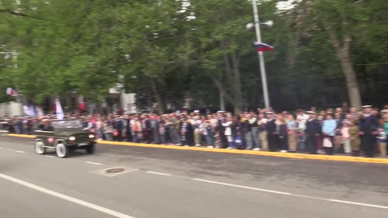 Его появления не ожидал никто Танк Т 34 на улицах Севастополя