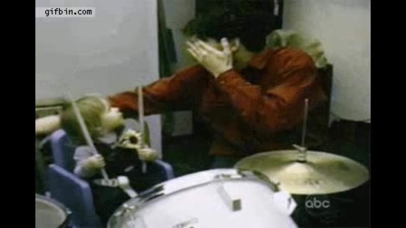 Drummer early exercises