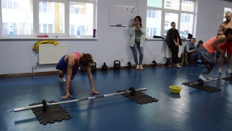 CrossFit-заруба в Феодосии 15.04.2018. Женщины А. Финал