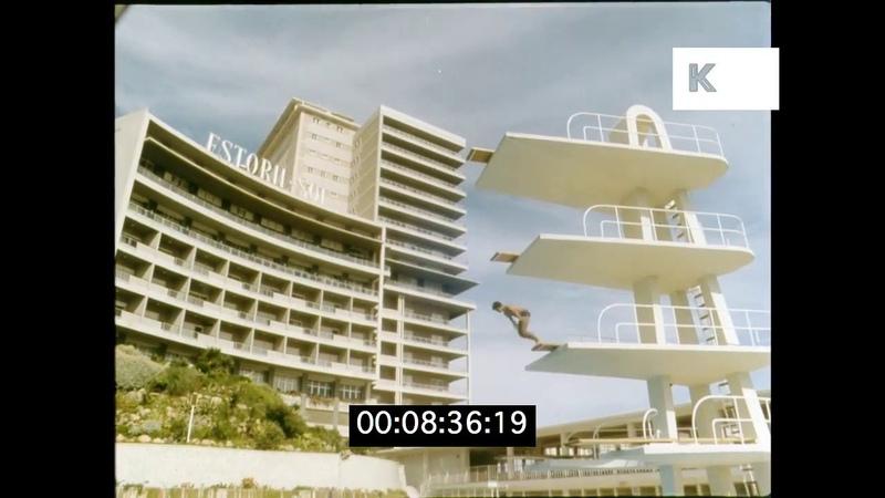 1960s Estoril, Cascais, Portuguese Riviera in HD