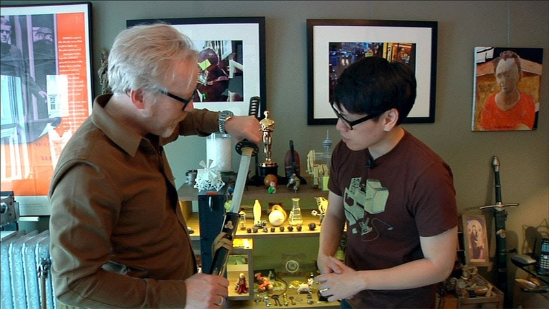 Tour of Adam Savage's Home Office