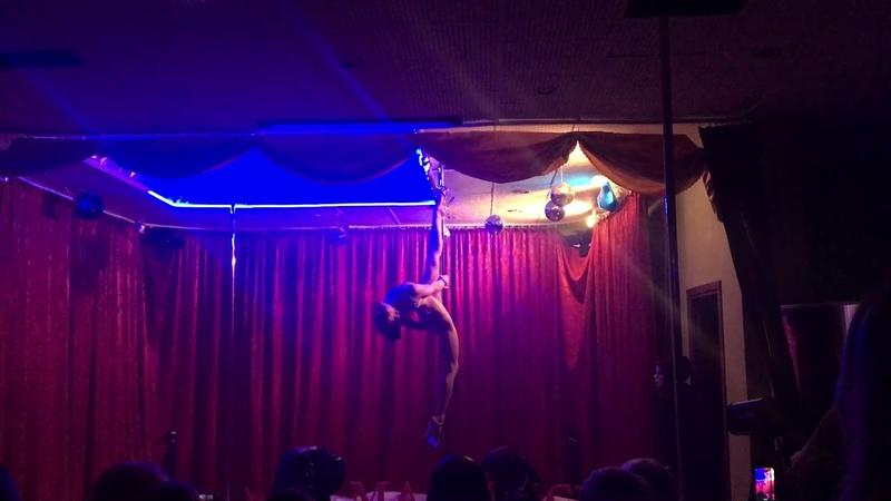 Ольга Thais Малышева пилон Отчетник 15 декабря 2018 в студии MajeStick Pole Dance
