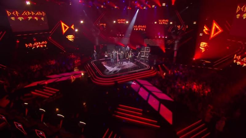 DEF LEPPARD Performs On La Voix Season Finale