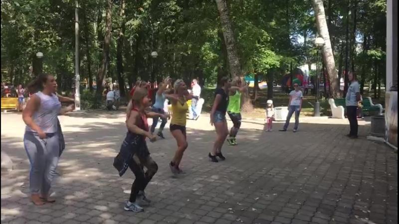 зумба в парке (3)