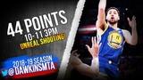 Klay Thompson UNREAL Shooting 44 Pts, 10-11 3PM! 2019.01.21 Warriors vs Lakers FreeDawkins
