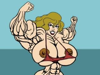 Women muscle growth
