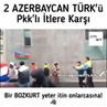Драка азербайджанцев с курдами в Париже Курды бегут как крысы🇦🇿