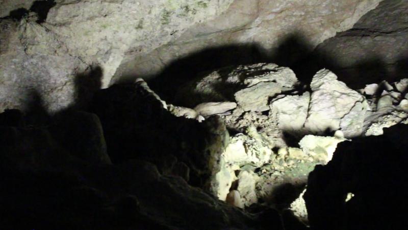 пещера НовоАфонская Абхазия 2018