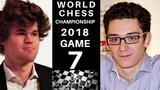 World Chess Championship 2018 - Game 7 Secrets Magnus Carlsen vs Fabiano Caruana Next Champion