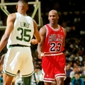 When Reggie Lewis blocked Michael Jordan 4 times in the same game! Boston Celtics / Бостон Селтикс