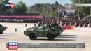 Военный парад в Лаосе с участием российского вооружения и техники