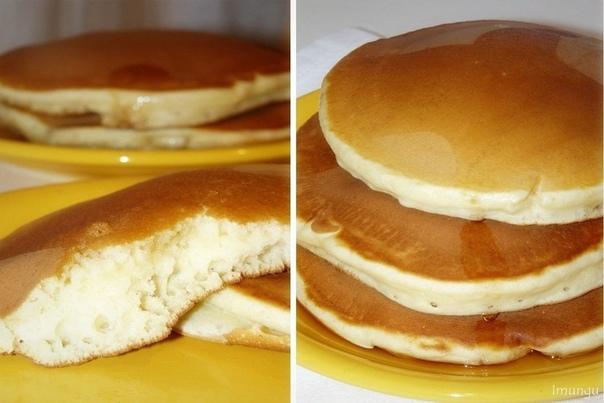 Хоткейки (американские блинчики на завтрак)