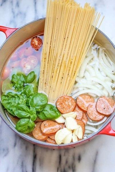 Супер-спагетти, вкуснее не бывает!)