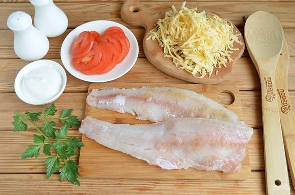 Вкусная рыба по-французски на ужин.