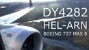Norwegian Boeing 737 MAX 8 Flight Experience HEL-ARN