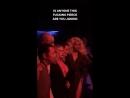 Christina Aguilera Sasha Velour Farrah Moan at NYFW