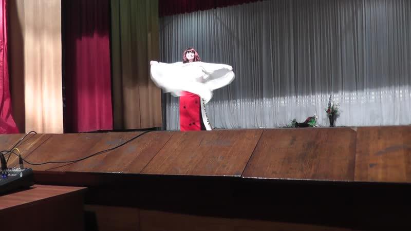 Михайлова Лариса! Танец с платком! Пост. Т.П.Дорош