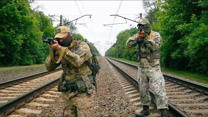 Тренування роти охорони Дергачівського військового комісаріату