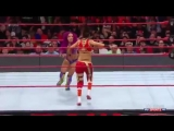 1080pHD WWE RAW 03_06_17 Sasha Banks vs Bayley ( Charlotte Flair attacks )