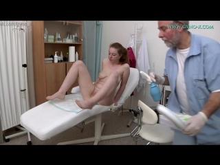 Gyno-X Jessica Jones [Medical Fetish, Gyno Exam, Teen, Redhead, Anal Checkup, Vaginal Enema, Masturbation]