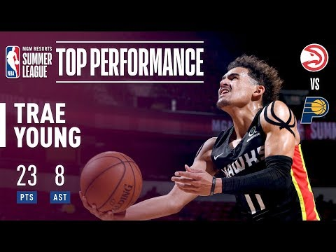 Trae Young Shows Off The Clutch Gene In The 2018 MGM Resorts Summer League