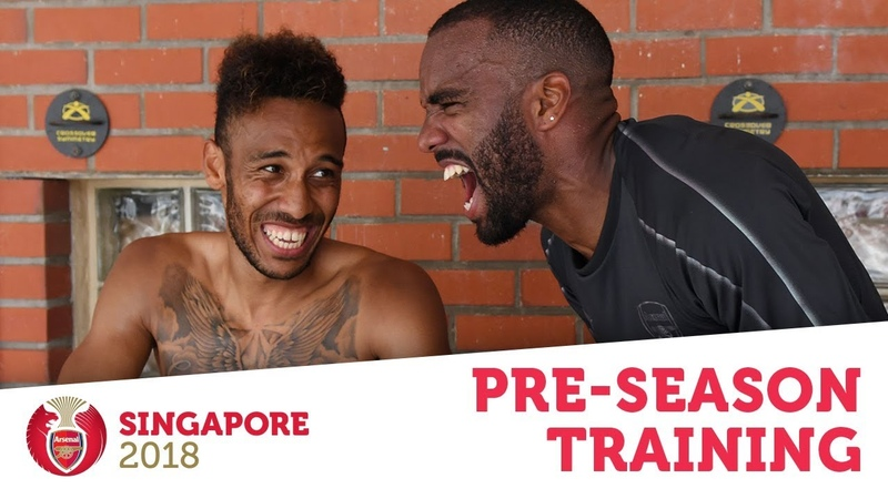 SPEED TESTS, PENALTIES ICE BATHS   AFCTour2018