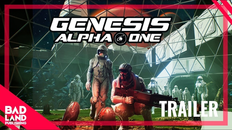 TRAILER Genesis Alpha One BadLand Publishing