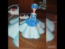Светильник Барби в голубом цвете