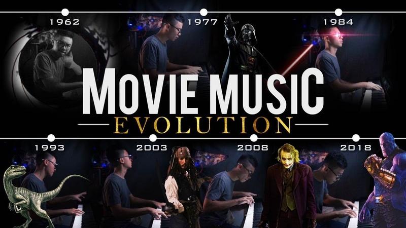 Movie Music Evolution - MashupMedley on Piano [1960-2018] (Piano Cover)SHEETSMIDI