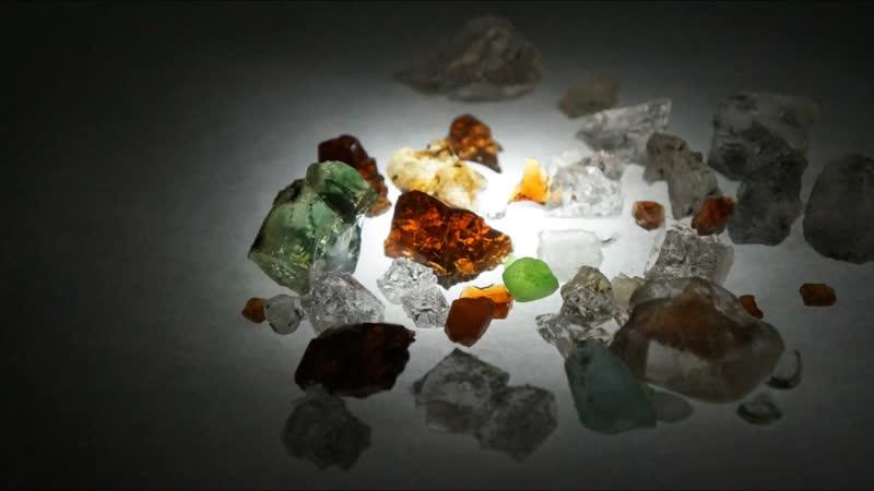 Kamienie szlachetne zbierane w Polsce na polach Zagłębia Mineralnego