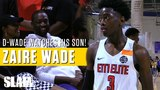 Dwyane Wade watches his son Zaire make Nike EYBL Debut! Full Session 3 Highlights
