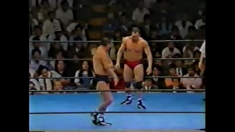 PWFG Yoshiaki Fujiwara vs. Joe Malenko