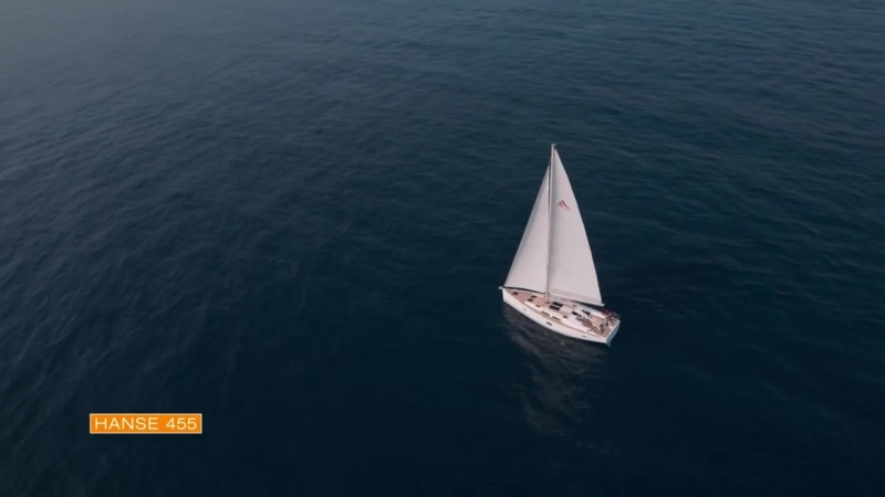 На яхте Hanse 455
