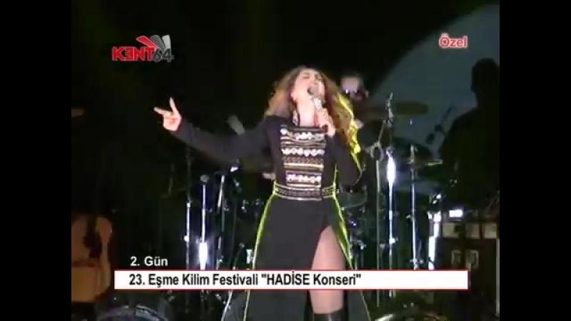 23 EŞME KİLİM FESTİVALİ HADİSE KONSERİ Hadise Концерт Хадисе в Eşme-12 АВГУСТА 2018г.