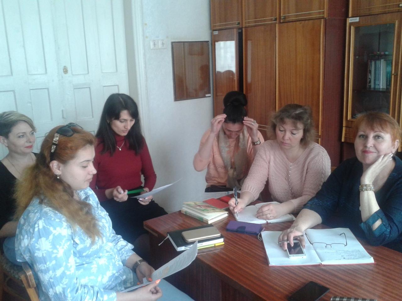 Заседание методического совета ГБОУ ДО ЛНР «Антрацитовский центр детского творчества»